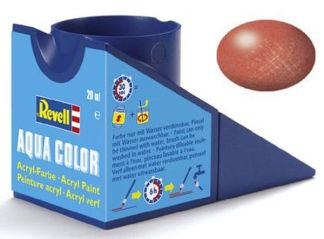 Revell 36195 Acrylic Paint 'Aqua' 18ml Solid Metallic Bronze