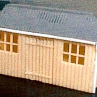 Dornaplas A5 Pagoda Waiting Shelter Hut Kit (N scale plastic kit)