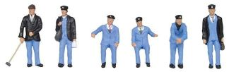 Bachmann 36-407 1950's Train Crew (6 figures OO gauge)