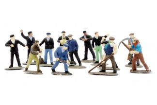Dapol C002 Railway Workmen (38 figures. OO scale)