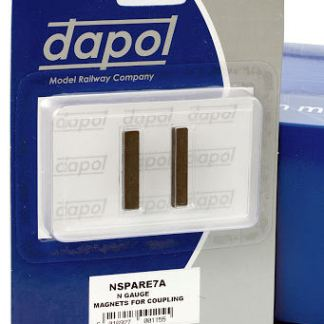 Dapol 2A-000-006 (Was NSPARE7A) N Gauge Easi-Fit Magnetic Coupling Activation Magnets (1 Pair)