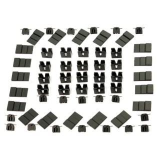 Dapol 2A-000-014 N Gauge 20 NEM Pockets for Easi-Fit Magnetic Couplings