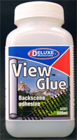 Deluxe Materials AD61 View Glue Back Scene Adhesive (225ml)