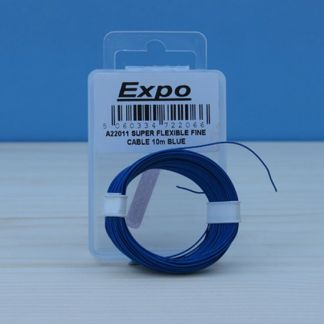 Expo A22011 Super Flexible Fine Cable (Blue - 10M)