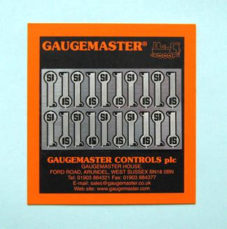Gaugemaster EM2 Coupling Adaptor Fret x 20 (N gauge)