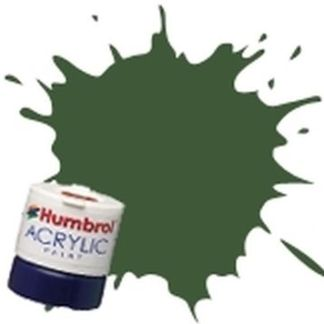 Humbrol 102 Army Green Matt - Acrylic Paint 14ml