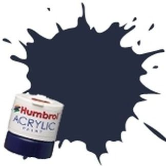 Humbrol 104 Oxford Blue Matt - Acrylic Paint 14ml