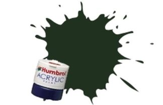 Humbrol 116 US Dark Green Matt - Acrylic Paint 14ml