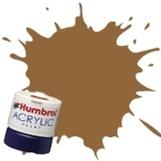Humbrol 118 US Tan Matt - Acrylic Paint 14ml