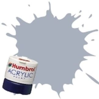 Humbrol 127 US Ghost Grey Satin - Acrylic Paint 14ml