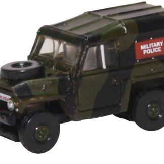 Oxford NLRL002 Land Rover Lightweight - Military Police (N gauge)