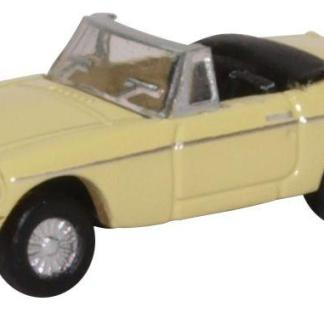 Oxford NMGB002 MGB Roadster - Pale Primrose (N gauge)