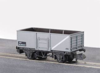 Peco NR-44B Butterley Steel type Coal Wagon - BR Mid Grey (N gauge)
