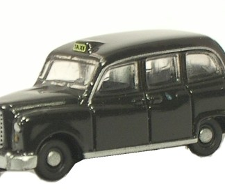 Oxford NFX4001 Black FX4 Taxi Cab - N scale