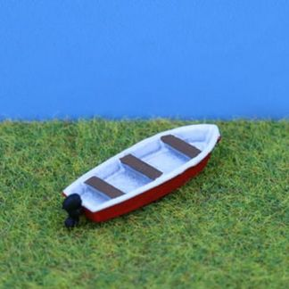 PD Marsh PDX64 13ft Boat with Outboard Motor (N gauge)
