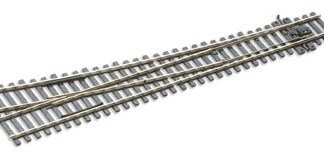 Peco SL-E188  Code 75 Electrofrog Right hand Turnout, large radius (OO gauge)