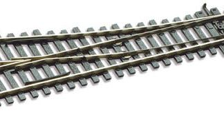 Peco SL-E191 Code 75 Electrofrog Right hand Turnout, small radius (OO gauge)
