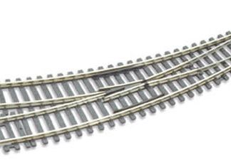 Peco ST-244 Setrack Curved Right Hand Point Insulfrog (Hornby R8075) (OO gauge)