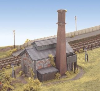 Ratio 226 Pump/Boiler House (N gauge plastic kit)
