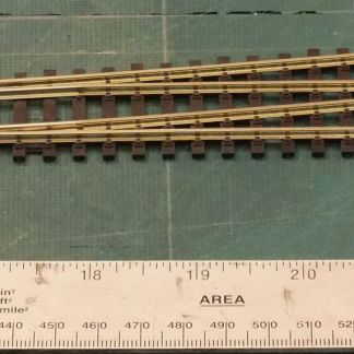 Peco SL-89  Code 100 Insulfrog Large Radius Left Hand Point (OO gauge)