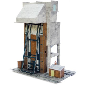 Superquick A12 Coaling Tower (OO scale card kit)