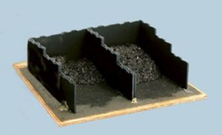 Wills SS17 Coal Bunkers (Staithes) (OO gauge plastic kit)