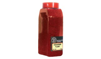 Woodland Scenics T1355 Coarse Turf Shaker - Fall Red
