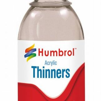Humbrol AC7433 Acrylic Thinners (125ml bottle)
