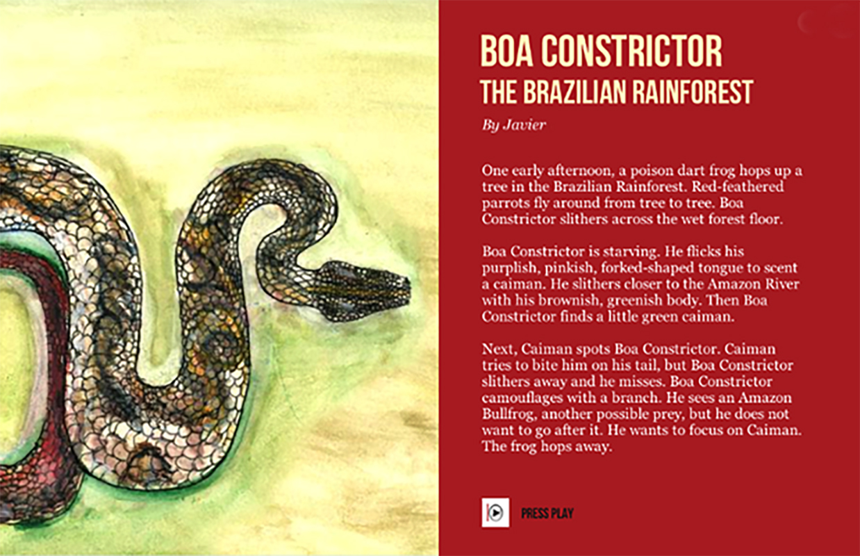 Slithering Snake Stories Models Of Excellence