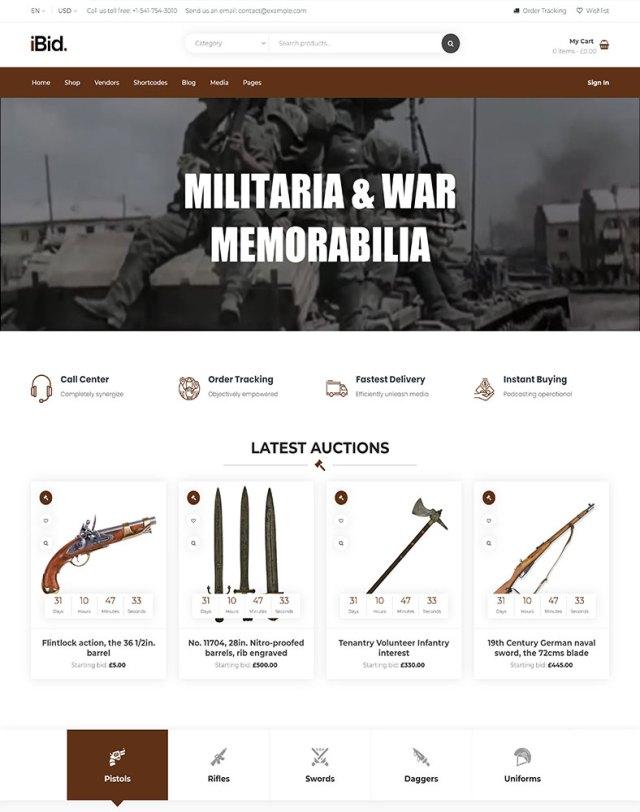 Militaria Auctions