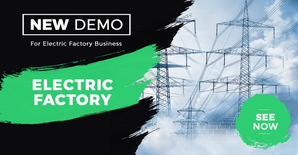Zidex - WordPress industrial and factory theme - 3