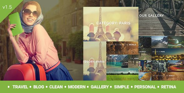 Travelogue – Travel Blog WordPress Theme