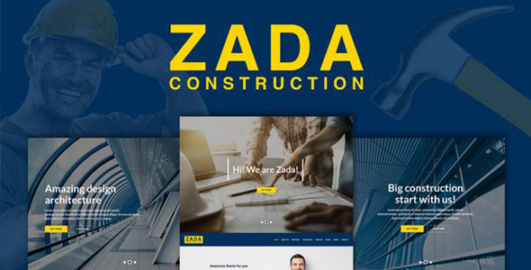 Zada – Construction WordPress Theme