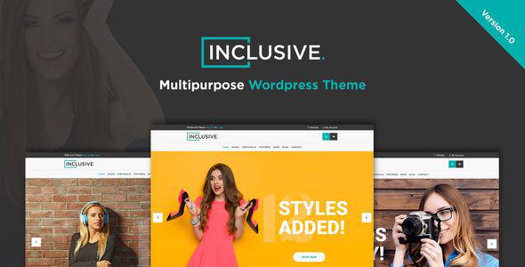 Inclusive – Fashion Shop WordPress Theme