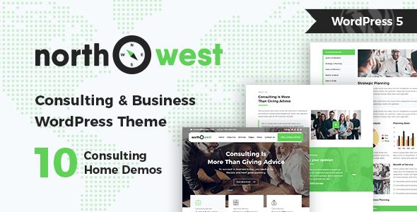 Northwest – Consulting WordPress Theme