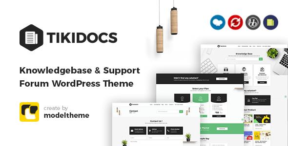 Tikidocs – Knowledgebase WordPress Theme
