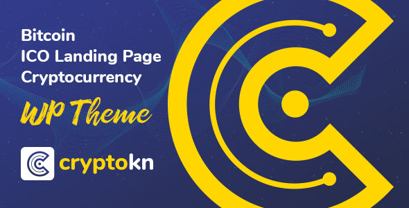 Cryptokn – Cryptocurrency WordPress Theme