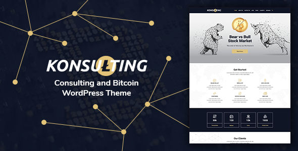 Konsulting – Consulting & Bitcoin Theme
