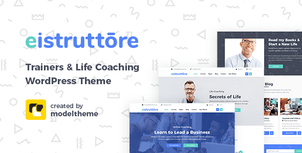 Eistruttore – Speaker and Life Coach Theme