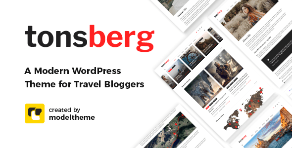 Tonsberg – Travel Blogging Theme