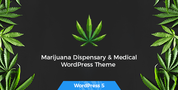 Tijuana – Marijuana Dispensary WordPress Theme