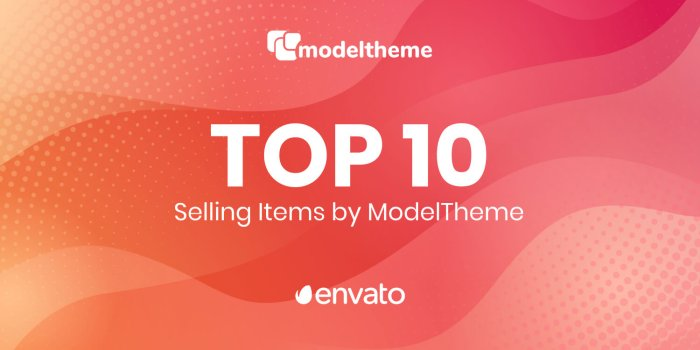Top 10 Best Selling Themes by ModelTheme