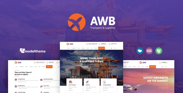 AWB – Transport & Logistics WordPress Theme