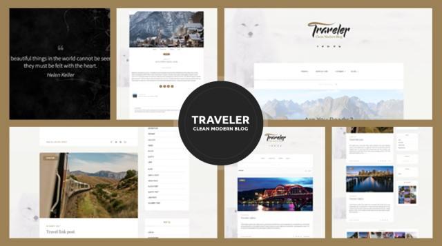 Traveler - Travel Blogger Theme