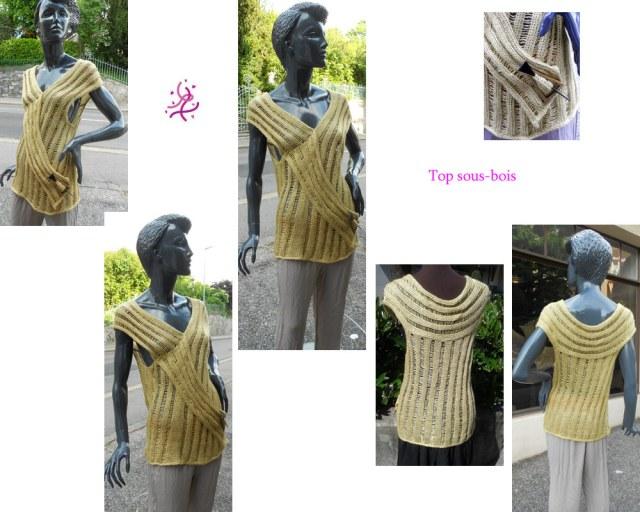 Vous cherchez une tenue originale pour un événement spécial? Alors ce top est pour vous!