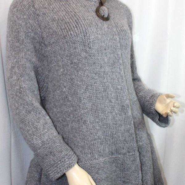 Veste Sirocco gris foncé