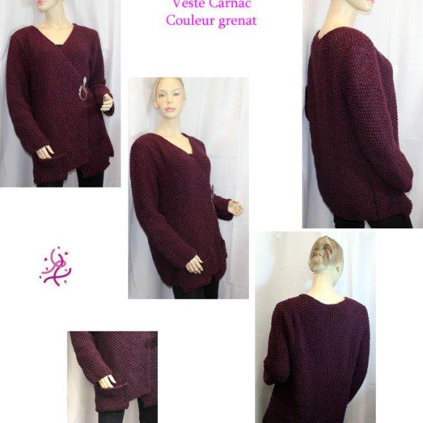 Vous cherchez une veste souple, confortable et qui allie classique et originalité? Alors la veste Carnac est pour vous.