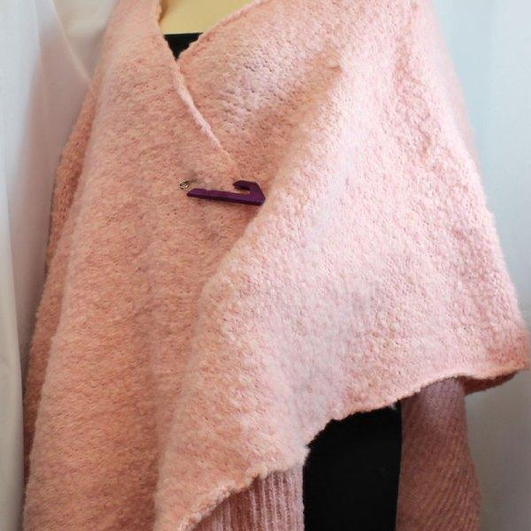 Cape Flocon, couleur rose