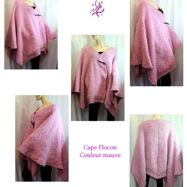 Cape Flocon, couleur mauve