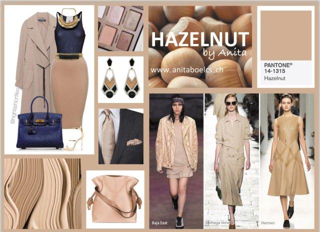 Hazelnut, couleur de janvier 2017
